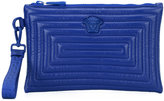 Versace quilted clutch bag - men - Cotton/Leather - One Size