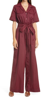 STAUD Millie Women's Recycled Nylon Jumpsuit