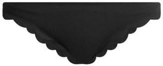 Marysia Swim Broadway Scallop-edged Bikini Briefs - Black