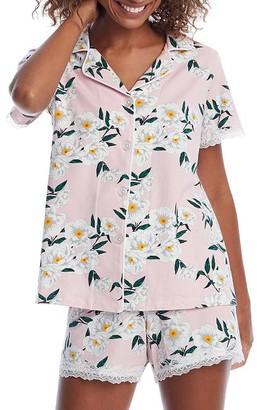 BedHead Fleur De L'Amour Knit Pajama Set