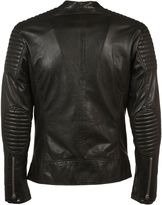 Bully Leather Biker Jacket