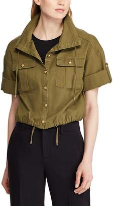 Lauren Ralph Lauren Short Jacket with Short Sleeves