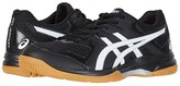Asics GEL-Rocket(r) 9 (Black/White) Women's Volleyball Shoes