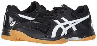 Asics GEL-Rocket(r) 9 (Black/White) Women's Volleyball Shoes