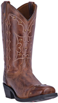 Dingo Rust Embroidered Starburst Leather Cowboy Boot - Men