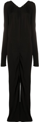 Gianfranco Ferré Pre Owned 1990s Long-Sleeve Jumpsuit