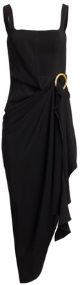 Acler Maine Draped Asymmetrical Dress