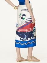 Ralph Lauren Black Label Silk Jeanette Skirt