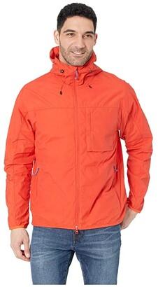 Fjallraven High Coast Wind Jacket (Flame Orange) Men's Coat