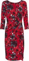 Gina Bacconi Fiona Floral Jersey Dress
