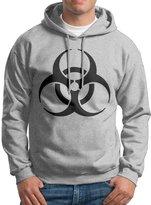 Sarah Men's Resident Evil Biohazard Symbol Logo Hoodie XXL