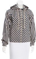 Kule Hooded Striped Jacket w/ Tags