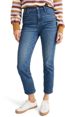 Madewell Classic Straight Leg Jeans