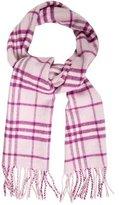 Burberry Nova Check Wool & Cashmere Scarf