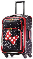American Tourister Minnie Mouse Red Bow Softside Spinner- 28in.