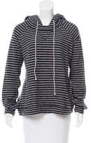 A.L.C. Striped Hooded Sweatshirt
