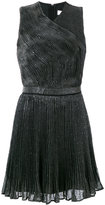 Carven sequinned pleated dress - women - Silk/Polyamide/Polyester/Viscose - 42