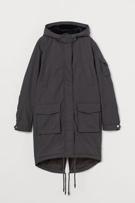 H&M Parka - Gray