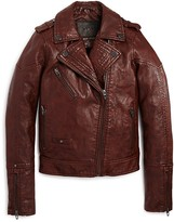 Blank NYC BLANKNYC Girls' Faux Leather Moto Jacket - Big Kid