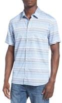 Quiksilver Men's 'Aventail' Stripe Woven Shirt