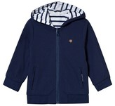 Mayoral Reversible Navy and White Stripe Jacket