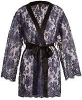 COCO DE MER Nereide floral-lace robe