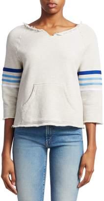 Mother Square Tear Striped Kanga Sweater