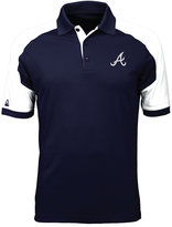Antigua Men's Atlanta Braves Century Polo
