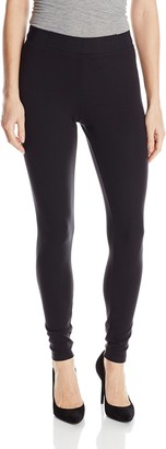 Yummie by Heather Thomson Women's Mid Rise Slimming Stretch Twill Leggings