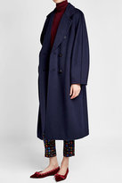 Max Mara Virgin Wool Coat with Cashmere