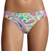Arizona Paisley Double-Strap Hipster Swim Bottoms - Juniors