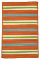 Colonial Mills Painter Stripe Braided Area Rug
