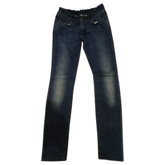 Mauro Grifoni Blue Cotton Jeans for Women
