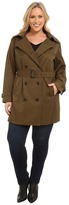 MICHAEL Michael Kors Size Double-Breasted Trench