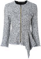 Roland Mouret 'Delen' jacket - women - Cotton/Acrylic/Polyamide/Wool - 8