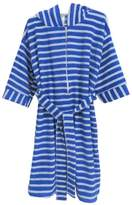 Benefit Wear Childrens Hooded Stripe Terry Bath Robe with Zipper