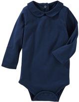 Osh Kosh Baby Girl Peter Pan Collar Bodysuit