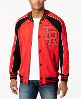 True Religion Men's Collegiate Bomber Jacket