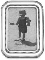 Reed & Barton Heritage Banded Bead 4-Inch x 6-Inch Pewter Picture Frame