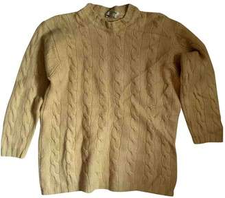 Brunello Cucinelli Yellow Cashmere Knitwear for Women Vintage