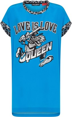 Dolce & Gabbana Jungle Sport silk T-shirt