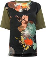 Dries Van Noten printed front short sleeve T-shirt