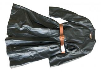 Marni Green Leather Coats