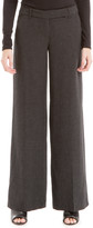 Max Studio Crepe Wide-Leg Trouser