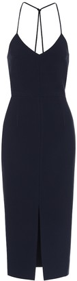 Roland Mouret Cannock stretch-crepe dress