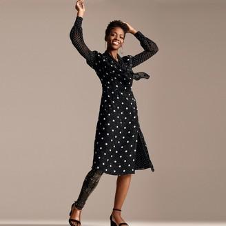 Tommy Hilfiger Zendaya Adaptive Polka Dot Dress