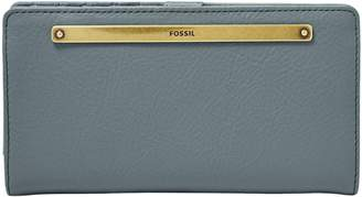 Fossil Liza Slim Leather Bi-Fold Wallet