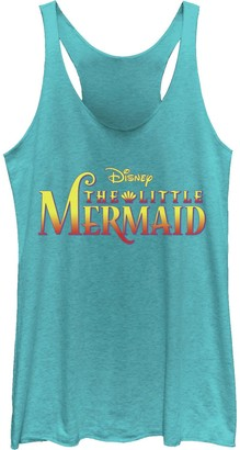 Licensed Character Juniors' Disney's The Little Mermaid Classic Logo Tank