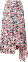 Marni Poetry Flower print skirt