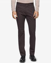 Calvin Klein Men's Sateen Slim-Fit Pants